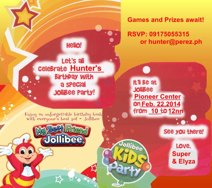 Hello kitty bday invitationshello kitty party invitations jollibee invitation template choice image invitation stopboris Gallery
